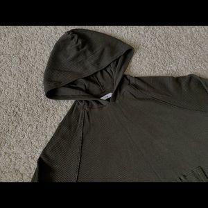 Aritzia Tops - Aritzia TNA Waffle Oversized Hoodie